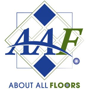 About All Floors corporate brand logo design