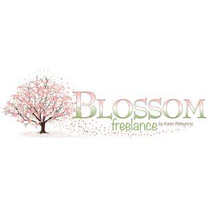 Blossom Freelance brand logo design