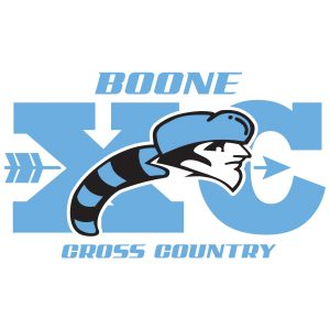 Daniel Boone Cross Country apparel logo design