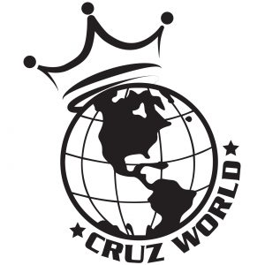 Cruz World Customs brand logo design