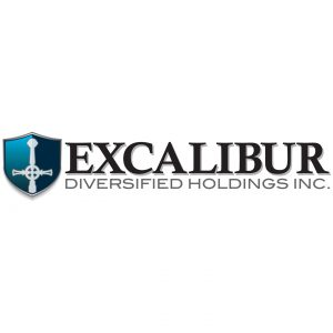 Excalibur Diversified Holdings Inc. corporate branding logo design