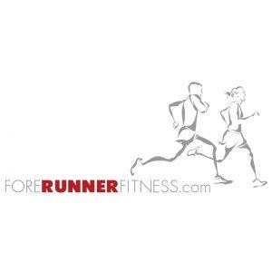 ForeRunner Fitness.com brand logo design