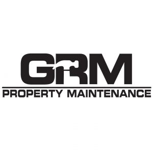 GRM Property Maintenance brand logo design