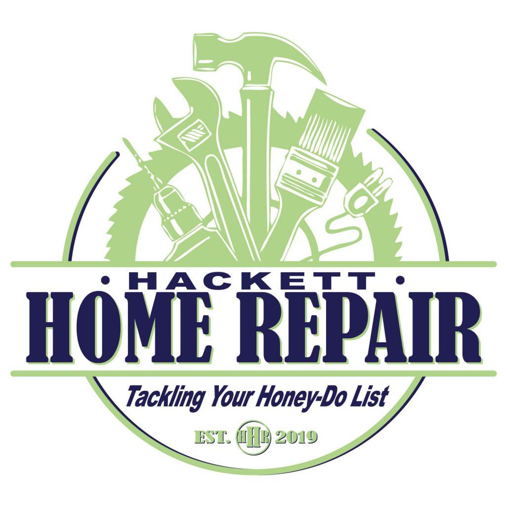 Hackett Home Repair brand logo design