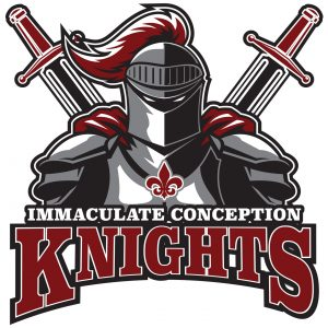 Immaculate Conception Knights apparel logo design