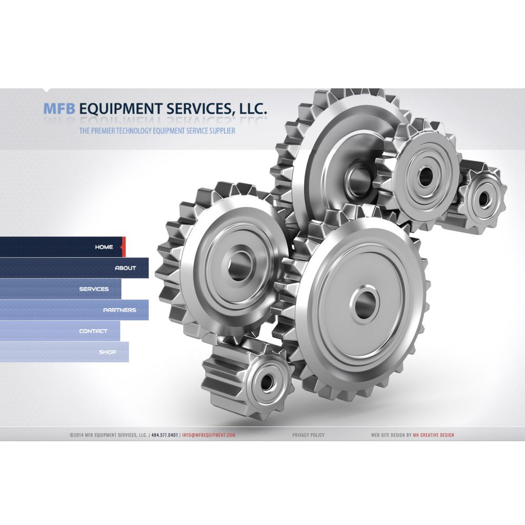 MFB Equipment Services, LLC. website design