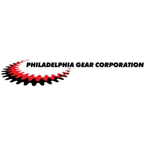 Philadelphia Gear Corporation corporate branding logo design