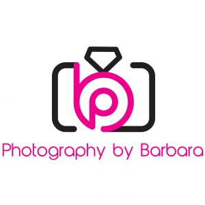 Photography By Barbara brand logo design