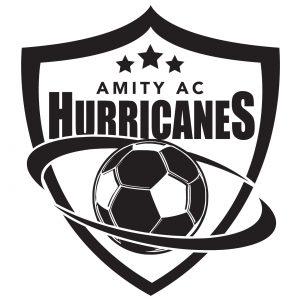 Amity AC Hurricanes Soccer logo