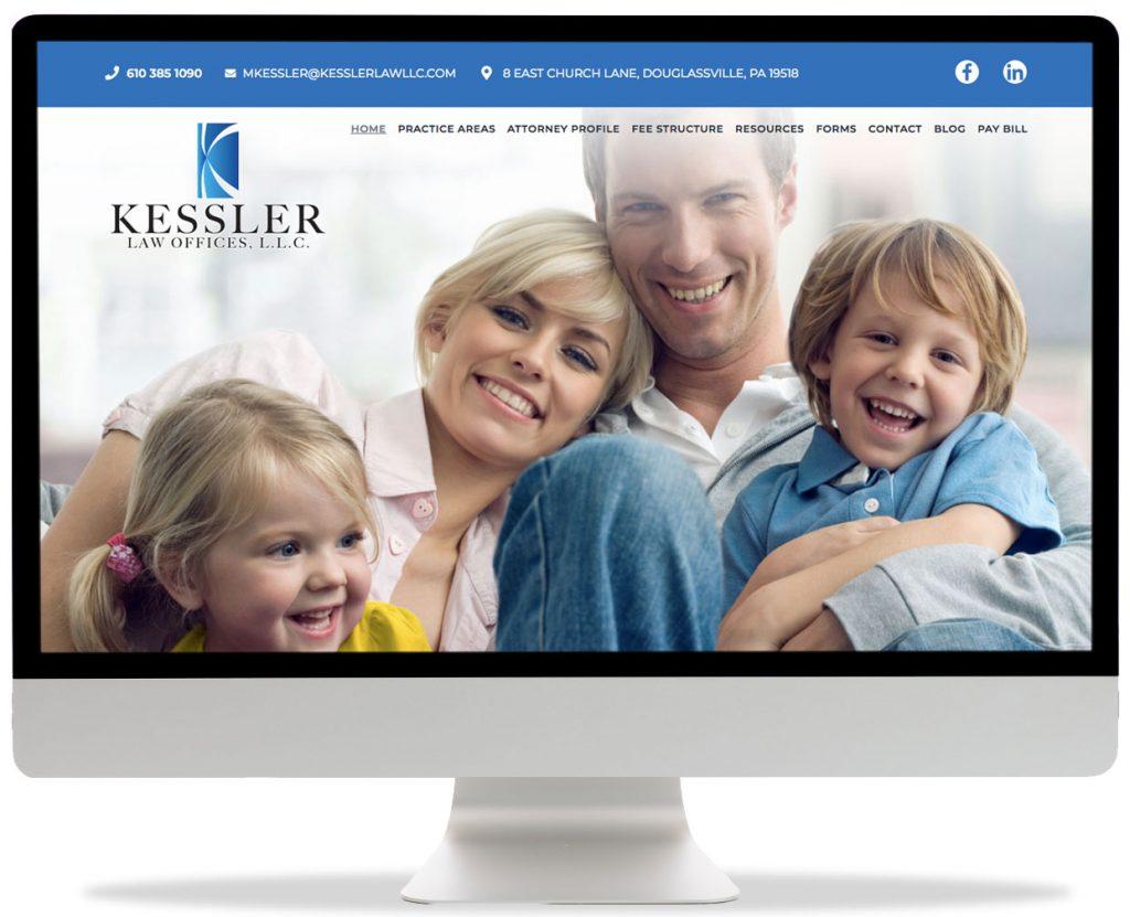 Kessler Law Offices L.L.C. website design https://www.kesslerlawllc.com